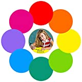 Colorful Dry Erase Dots Circles Whiteboard Marker Removable...