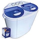 Garatic Portable Compact Mini Twin Tub Washing Machine...