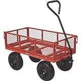 Ironton Steel Utility Cart - 400-Lb. Capacity, 34in.L x...