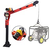 RUGCEL WINCH New 1100lb Folding Truck-Mounted Crane, with...