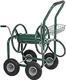 PayLessHere Garden Hose Reel Cart with Wheels Heavy Duty...