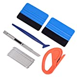 Vehicle Vinyl Wrap Window Tint Film Tool Kit Include 4 Inch...
