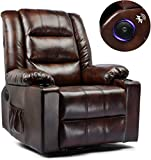 ComHoma Massage Recliner Chair PU Leather Home Theater...