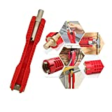 (8-in-1) faucet and sink installer,multi-purpose wrench...