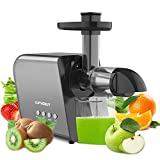 Slow Juicer Machine for Vegetables and Fruits 2021 Cold...
