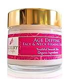 Luxury by Sofia Organic Age Defying Peptide Face & Neck Skin...
