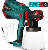 Scuddles Paint Sprayer, 1200 Watt High Power HVLP Home and...