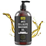 M3 Naturals Anti Cellulite Massage Oil Infused with Collagen...