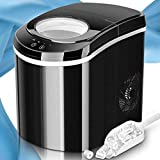 TRUSTECH Ice Maker Portable Ice Machine Countertop, 9 Ice...