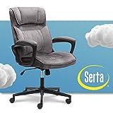 Serta Executive Office Chair Ergonomic Computer Upholstered...