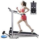 Treadmill, Folding Manual Treadmill,Shock Running, Supine,...