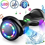 TOMOLOO Hoverboard with Speaker and Colorful LED Lights...