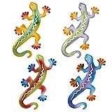 Gift Boutique Salamander Gecko Metal Wall Art Outdoor Decor...