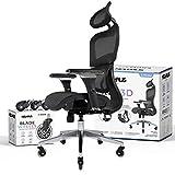 NOUHAUS Ergo3D Ergonomic Office Chair - Rolling Desk Chair...