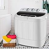 SUPER DEAL Portable Compact Mini Twin Tub Washing Machine...
