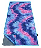 Ewedoos Yoga Towel with Anchor Fit Corners, Non Slip Yoga...
