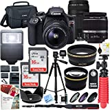 Canon T6 EOS Rebel DSLR Camera with EF-S 18-55mm f/3.5-5.6...
