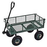 Sandusky Lee CW3418 Muscle Carts Steel Utility Garden Wagon,...