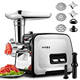 ALTRA Stainless Steel Electric Meat Grinder, Meat Mincer &...
