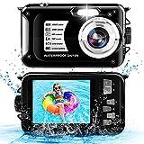 Underwater Camera 10FT Anti Shake 16X Zoom Waterproof Camera...