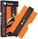 Saker Contour Gauge (10 Inch Lock) Profile Tool- Adjustable...