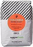 AmazonFresh Colombia Whole Bean Coffee, Medium Roast, 32...