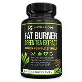 Premium Green Tea Extract Fat Burner Supplement with...