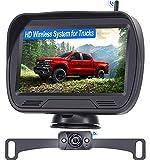 Wireless Backup Camera for Trucks with Monitor Kit Digital...