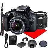 Canon EOS 4000D DSLR Camera w/Canon EF-S 18-55mm F/3.5-5.6...