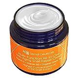 Korean Skin Care Snail Repair Cream - Korean Moisturizer...