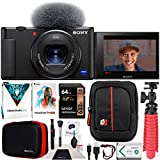 Sony ZV-1 Compact Digital Vlogging 4K HDR Video Camera for...