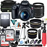 Canon T7 EOS Rebel DSLR Camera with EF-S 18-55mm f/3.5-5.6...