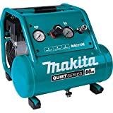 Makita MAC210Q Quiet Series, 1 HP, 2 Gallon, Oil-Free,...