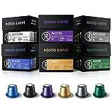Rosso Coffee Capsules for Nespresso Original Machine - 60...