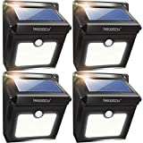 Neloodony Solar Lights Outdoor, Wireless 28 LED Motion...