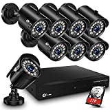 XVIM 8CH 1080P Security Camera System Outdoor with 1TB Hard...