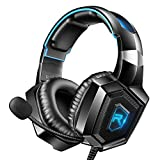 RUNMUS Stereo Gaming Headset for PS4, Xbox One, Nintendo...