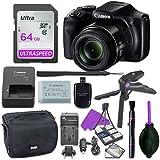 Canon Powershot SX540 Point & Shoot Digital Camera Bundle...