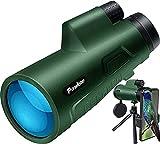 Pankoo 12X50 Monoculars for Adults High Power Monocular...