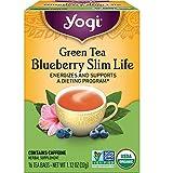 Yogi Tea - Green Tea Blueberry Slim Life (6 Pack) -...