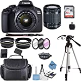 Canon EOS 2000D Rebel T7 Kit with EF-S 18-55mm f/3.5-5.6 III...