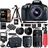 Canon EOS Rebel T6 DSLR Camera Kit, EF-S 18-55mm is II Lens,...