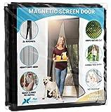 Flux Phenom Magnetic Screen Door - Retractable Mesh with...
