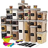 LARGEST Set of 52 Pc Food Storage Containers (26 Container...