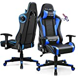 GTRACING Gaming Chair with Speakers Bluetooth Music Video...