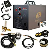 LOTOS MIG175 175AMP Mig Welder with Free Spool Gun, Mask,...