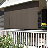 Patio Paradise Roll up Shades Roller Shade 8'Wx6'H Outdoor...