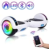 """SISIGAD Hoverboard 6.5"""" Self Balancing Scooter with..."""