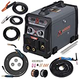 MTS-205 205 Amp MIG/TIG-Torch/Stick Arc Combo Welder, Weld...