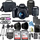 Canon EOS Rebel T7 DSLR Camera Bundle with Canon 18-55mm...